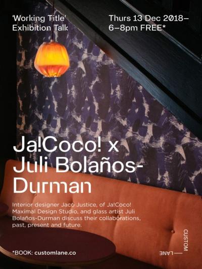 Talk | Working Title | Ja!Coco! and Juli Bolaños Durman