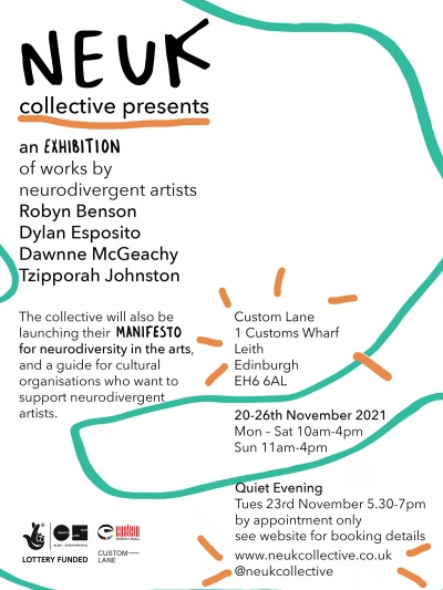 Neuk Collective   Exhibition and Manifesto Launch